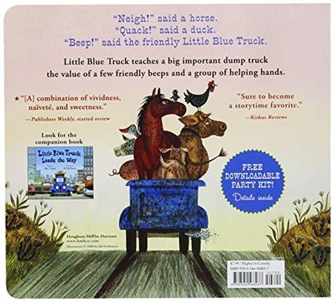 character description muck template little blue truck board book 11street malaysia children