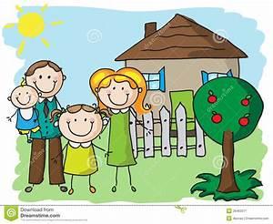 Zu Hause Zuhause : familie zu hause stockbild bild 26463371 ~ Markanthonyermac.com Haus und Dekorationen