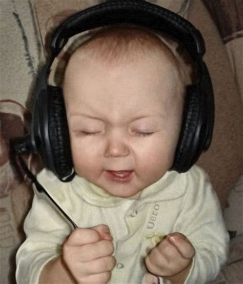 Baby Headphones Meme - 27 best images about headphone baby on pinterest adele show rock on and royalty free stock photos
