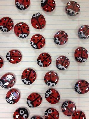 ladybug magnets    ladybug crafts bug crafts