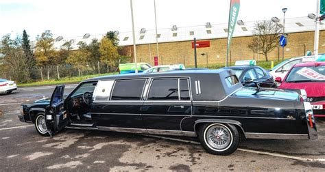 Limo For Sale by Us President Donald S 1988 Cadillac Limousine Is For