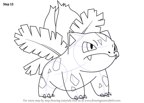 Ivysaur Coloring Page At Getcolorings.com