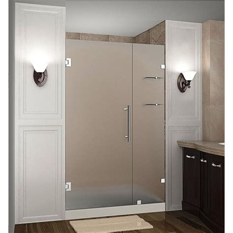 aston nautis gs      frameless hinged shower