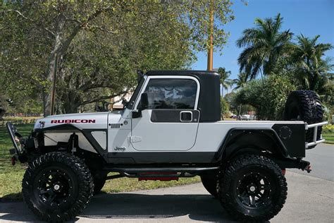 jeep wrangler unlimited custom  pickup