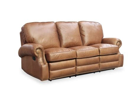 Top Grain Leather Recliner Sofa by Barcalounger Longhorn Ii Chaps Saddle Top Grain Leather