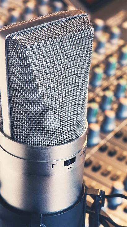 Microphone Studio Recording Samsung Android Htc Wallpapers