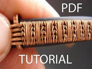 Tutorial Wire Weaving Pdf Tutorial Jewelry Tutorial Wire