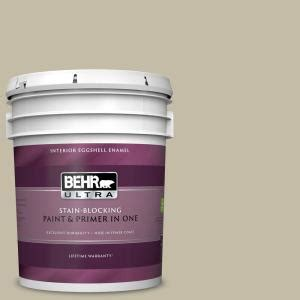 behr ultra 5 gal ppu8 celery powder eggshell enamel interior paint and primer in one 275405