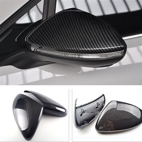 1 1 replacement style for vw volkswagen golf 7 r gti 2013 2014 2015 carbon fiber rear view