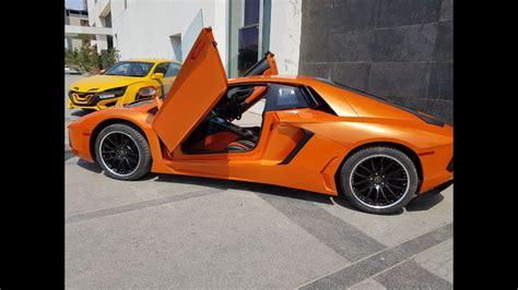 Lamborghini Aventador Modification by Lamborghini Aventador Modified From Honda Accord By Emt