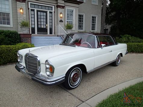 1970 Mercedes Benz 280se Coupe Low Grill Show Stopper W111