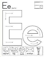 Preschool Activities: Letter of the Week {Ee}   ABC's