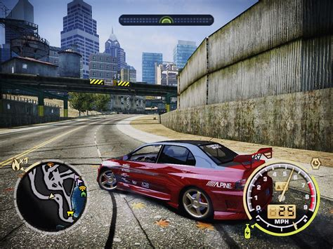 Nfs Most Wanted 2005 Ohh The Orange Splotches On