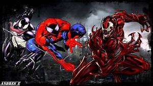 Carnage vs Venom Wallpaper ·①