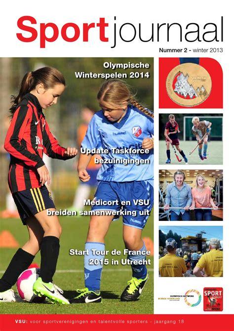 Sportjournaal winter 2013 by SportUtrecht Issuu