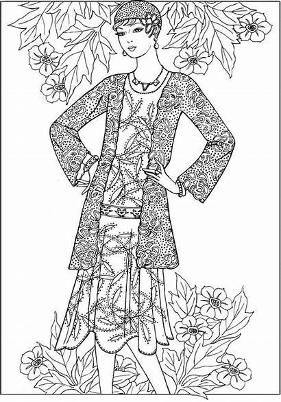 Coloring Pages Creative Haven Dover Jazz Adult