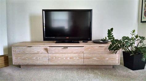 handmade custom tv stand  storage  essa studios