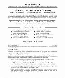 entertainment executive page1 media communications With entertainment resume