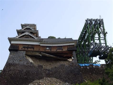 Photos Of The Kumamoto Castle Reconstruction Efforts