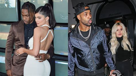 Kardashian Exes Kylie & Travis, Khloe & Tristan Reunite ...