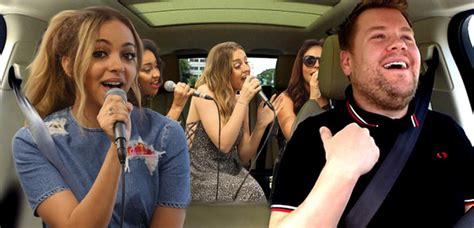 Shout Out To James Corden! Little Mix Are Working Their ...