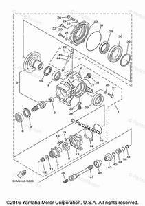Yamaha Atv 2003 Oem Parts Diagram For Drive Shaft