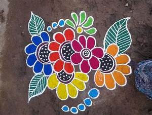 110+ Best Rangoli Designs, patterns Simple & easy for