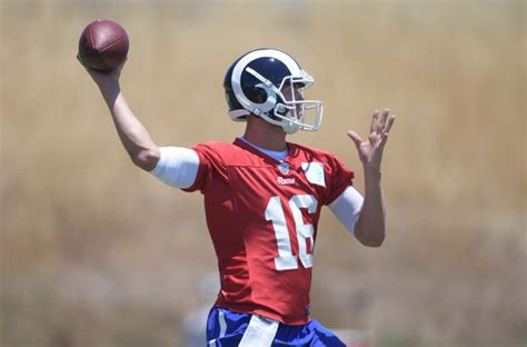 los angeles rams qb jared goff doesnt     team