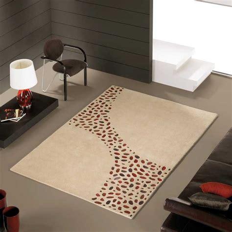tapis de luxe design beige loxton par carving