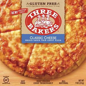 Cheese Pizza - Three Bakers