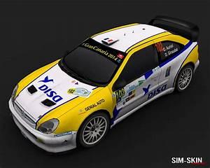 Sim-skin Design  Citroen Xsara Wrc 2005