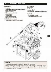 K U00e4rcher G 2500 Ht Gasoline Power High Pressure Washer