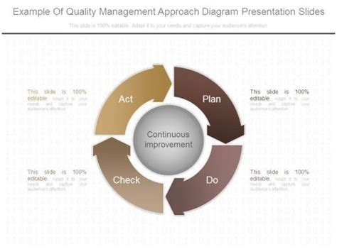 quality management approach diagram