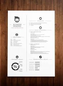 Resume Sample Modern Design Standard Cv Resume Templates