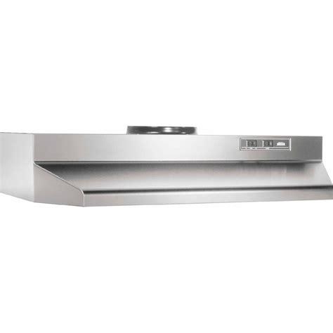broan ape130ss cabinet range broan 423004 30 190 cfm cabinet stainless steel