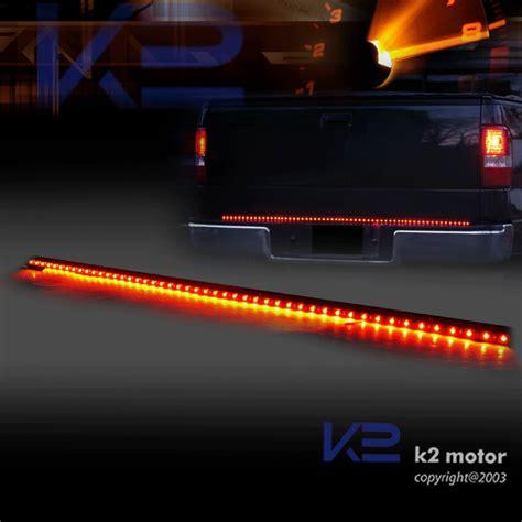 light strips for trucks 49 quot fire line light strip truck tailgate led brake gmc