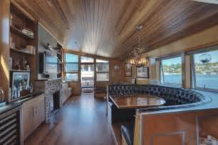 sale home interior luxury lake union houseboat in seattle includes the slip expired listing special agents realty