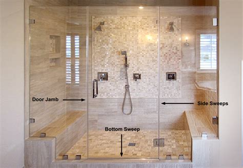 buy shower sweeps  dulles glass  mirror
