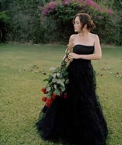 black wedding dress wedding inspiration pinterest With alexis bledel wedding dress