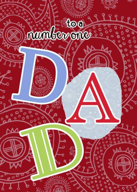 Looking for your credit card cvv code? Happy Father's day to my number one Dad, paisley ornaments card #Ad , #AD, #rsquo, #day, #Happy ...