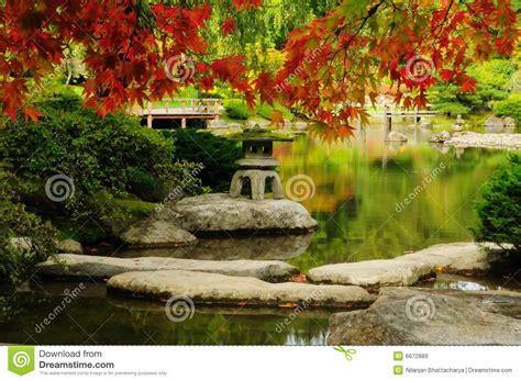 Japanischer Garten Im Herbst by Sch 246 Ner Japanischer Garten Im Herbst Lizenzfreie