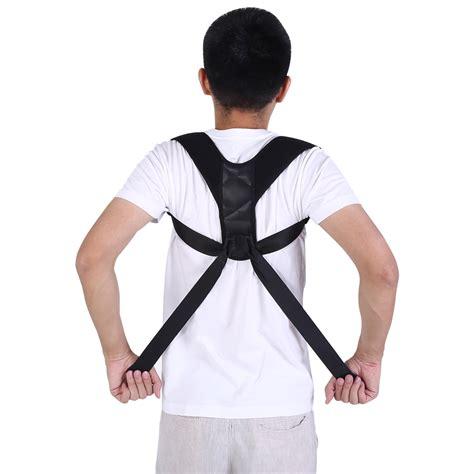 OTVIAP Adjustable Posture Corrector Clavicle Support Back ...