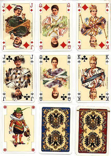 piatnik  kaiser joker playing card vintage playing