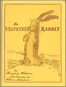 Velveteen Rabbit By Margery Williams  From Alephbet