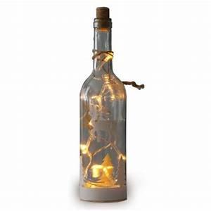 Flasche Mit Lichterkette : weihnachtliche dekoglasflasche mit led lichterkette ebay ~ Lizthompson.info Haus und Dekorationen