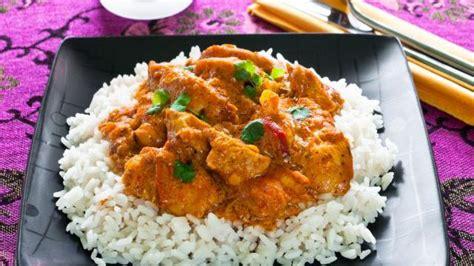 cuisine avec du riz recette indienne poulet aux amandes plats cuisine vins