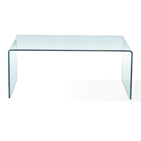 bent glass end table bent glass condo coffee table xcella
