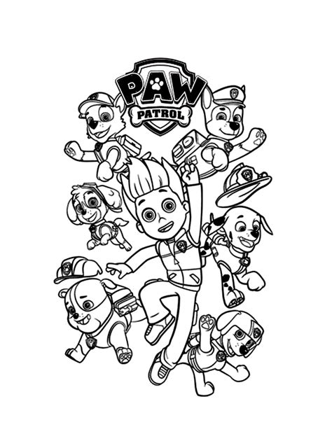 pat patrouille 21 dessins anim 233 s coloriages 224 imprimer