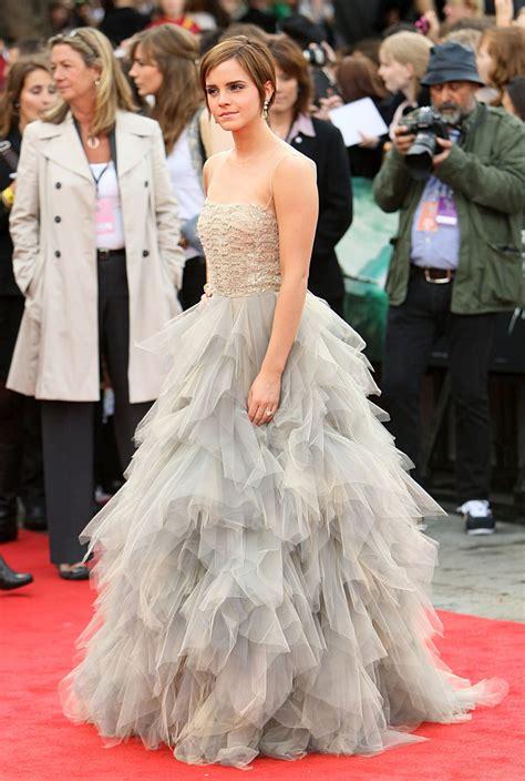 Emma Watson Dress Style Harry Potter Premiere London