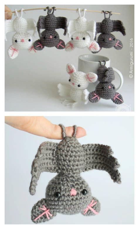 crochet amigurumi bat  pattern beesdiycom